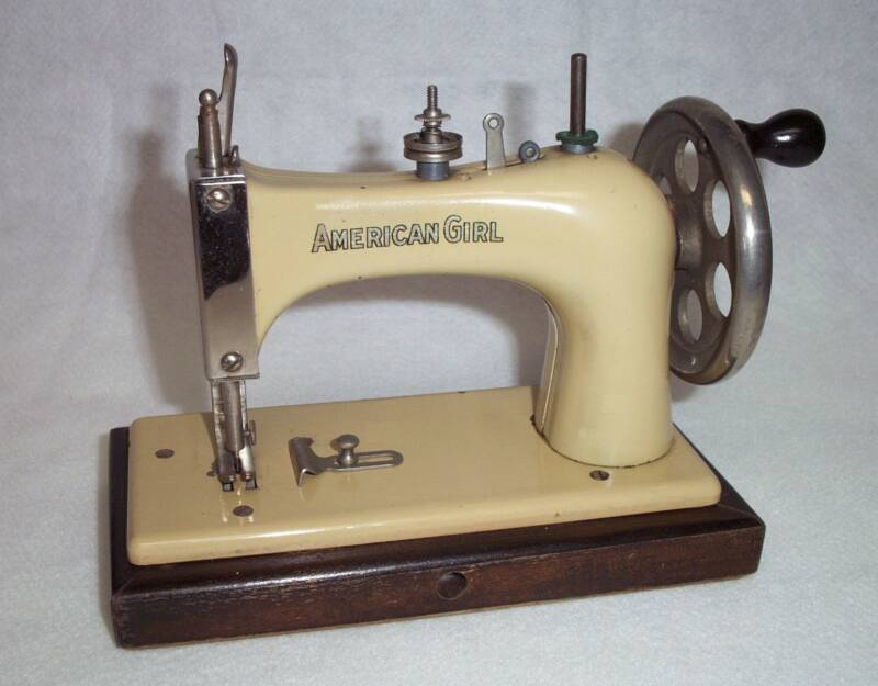 Shelly Burge American Girl Toy Sewing Machines Unique National Sewing Machine Company History